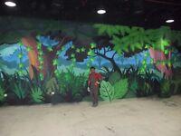 3D Wall/Floor Mural Painting Artist