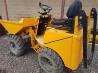 2016 THWAITES 1 TON HIGH TIP DUMPER IN VGC. LOW HOURS. ROAD LIGHTS. NO VAT. NO VAT