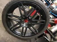 "Audi alloys 19""(genuine)"