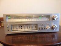 Toshiba SA 7100 Stereo Amp/Receiver. 1970's Vintage Hi Fi Audio.