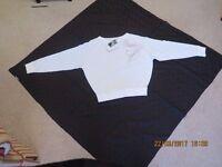 Speedo White long sleeved top.