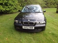 BMW 316 compact for sale, excellent condition