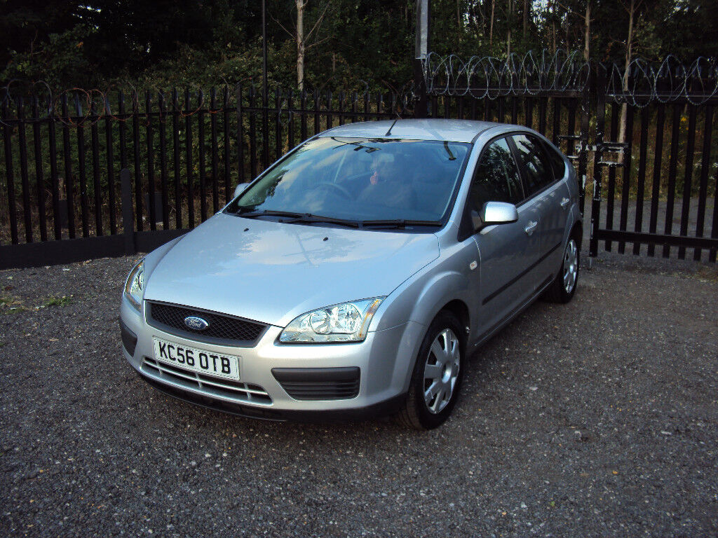 Ford Focus 1 4 Lx 2007 5dr Hatchback Low Miles A C Cd Aux F S H Long Mot 2keys Ladyowner Eco Extras