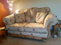 Very good condition sofas 3 seater + 2chairs