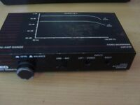 QED Stereo microphone amplifier.