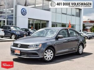 2015 Volkswagen Jetta Trendline Plus 2.0 5sp NO Accidents !! Cle