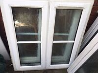 UPVC Double Glazed windows (various sizes)