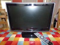 Toshiba LCD TV DVD combo 19DV615DB