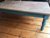 Shabby Chic/Rustic coffee table