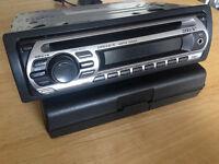 SONY car radio CD/MP3 AUX w/ Chrysler PT Cruiser Fascia &extras In Dash Receiver