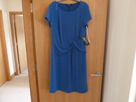 Betty Barclay dress size 16 blue. never worn