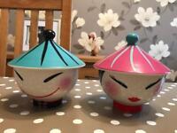 2 Chinese Bowls - Brand New