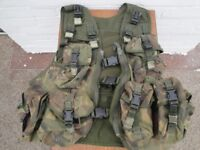 ARMY DPM CHEST RIG WEBBING CAMOUFLAGE