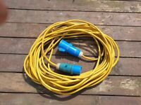 24m Camping Caravan Motorhome Electric Mains Hook Up Extension Cable Lead
