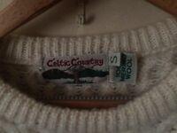 A warm 100% Marine Wool sweater
