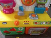 Chicco kitchen baby toy