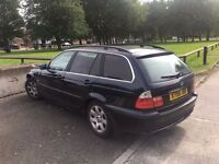 BMW 325i estate lady owner leather drive away px swap wel