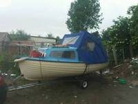 16ft boat with 25hp outboard