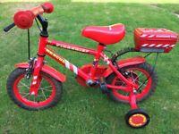 "Kids Firechief Bike 12"""