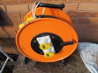 Heavy Duty 110 Volt 16 Amp Cable Reel