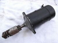 Ford Anglia starter motor. New! As in 50 yrs old new!