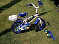"Kids Apollo 14"" boys police bike"