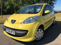 2008 58 PEUGEOT 107 1.0 12v 5dr - *MARCH 2019 M.O.T* - IDEAL FIRST CAR OR RUNAROUND - GOOD EXAMPLE!