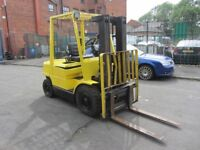 Hyster 2.5t TURBO Diesel forklift truck Rare container spec with side shift