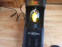 American DJ Scan 250EX dmx Moving Light 24v 250w lamp