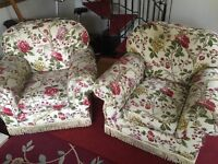 Sofa and to seats
