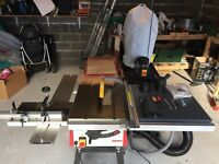 Axminster TS200 table saw / Dust collector + extras!