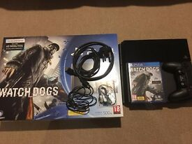 Playstation 4 500GB with Watchdogs + 3 Games