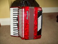 72 Bass Scarlatti Piano Accordian