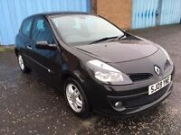 2009 Renault CLIO 1.2 dynamic , mot - April 2018 , service history ,