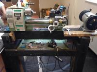 Lathe wood stand perfect for mini lathe