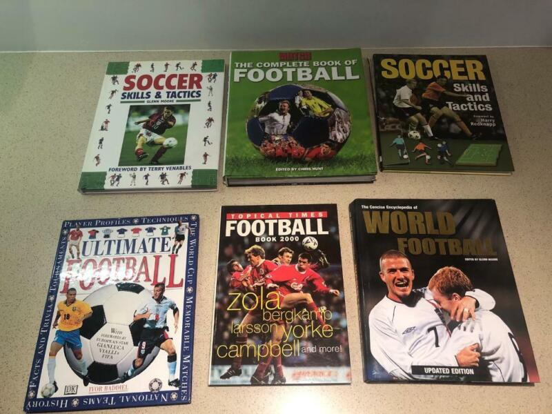 Football books for sale  South Woodham Ferrers, Chelmsford