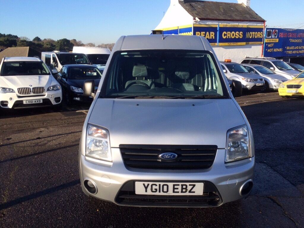 2010 ford transit connect 90 t30 trend manual silver
