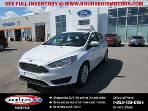 2016 Ford Focus *DEMO* SE REVERSE CAMERA