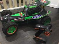 1/5 scale baja 30.5cc very fast and controller
