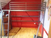 Ikea Svarta Loft Bed Frame