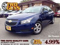 2012 Chevrolet Cruze 2LT ROOF ALLOYS NEW TIRES! GREAT COLOR!