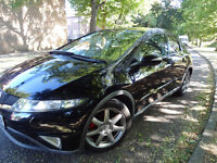 HONDA CIVIC TYPE S FULLY LOADED TOP SPEC IN BLACK NOT VAUXHALL CORSA ASTRA FORD FIESTA FOCUS VW POLO