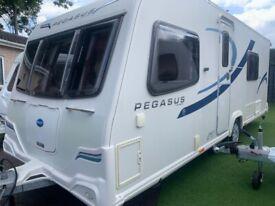 Bailey Pegasus Verona- 2012 fixed bed.