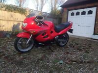 NICE SUZUKI GSXF 600 motorcycle - low miles - may swap / part ex for classic or other