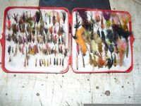 130 used fly's leuers buzers etc