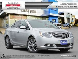 2014 Buick Verano SUNROOF! NAVI! 4 CYL2.0L TURPOCHARGED