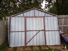 metal shed 20ft x 10ft