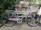 Ladies Raleigh Caprice 51cm, Basket and Mudguards, Brooks saddle, Fully Serviced, 3 sp. St Archer
