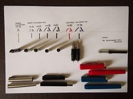 PARKER and SHEAFFER Calligraphy Set and EXTRAS