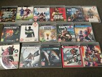 PlayStation 3 with 16 games